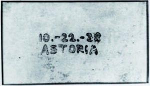 první xerografický obraz