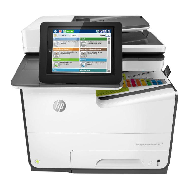Tiskárna HP PageWide E58650